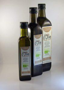 huile d'olive bouteille en verre bouteille